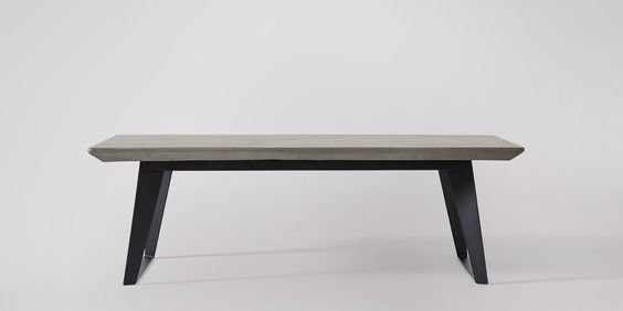 Swoon Editions Coffee table, industrial-style in concrete & City Grey – £349