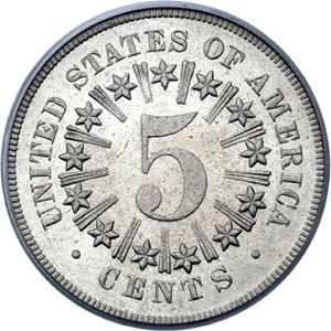 """On May 16th, 1866;  The US Congress ditches the half-dime and replaces it with """"the Nickel""""!"""