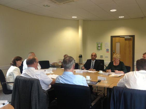 #SMCCG Board meeting in August 2013