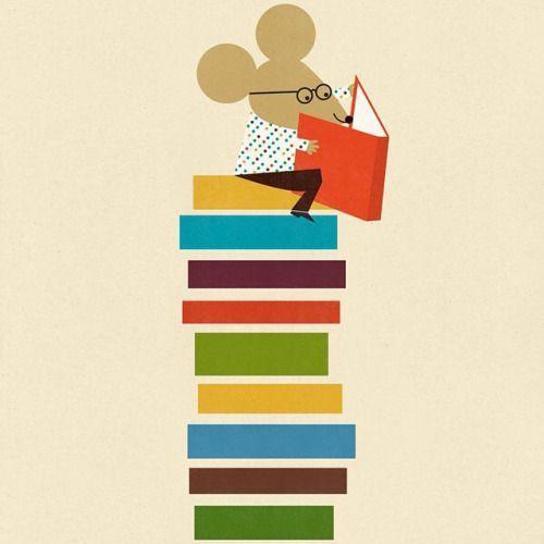 "Raton de Biblioteca Blanca Gomez ""Blancucha"""
