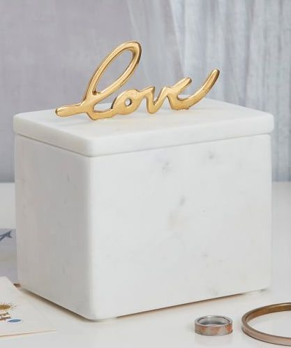 marble love box for mom