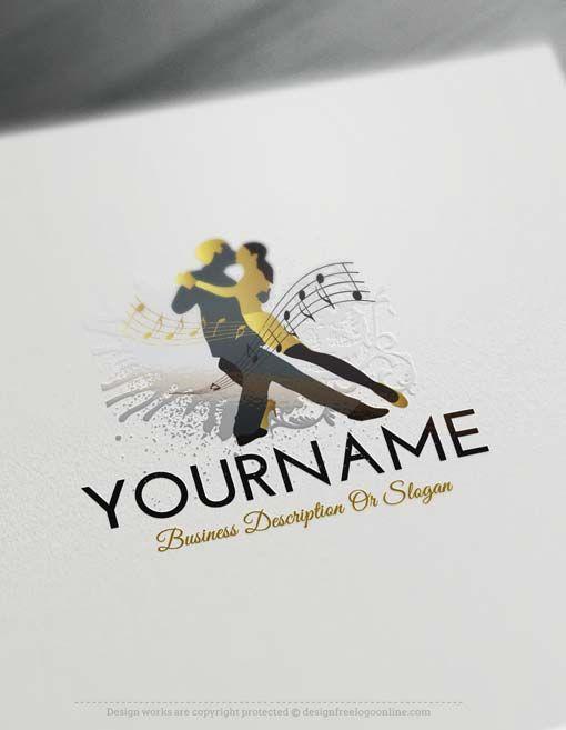 Create a Logo Free - Free Logo maker - Dancing Logo Template Ready ...