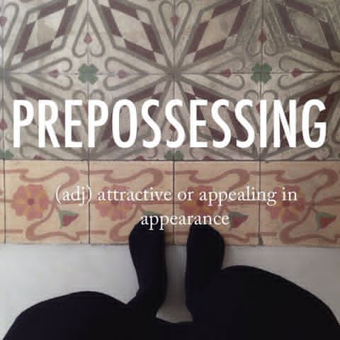Prepossessing Priːpəˈzesɪŋ Beautifulwords Wordoftheday
