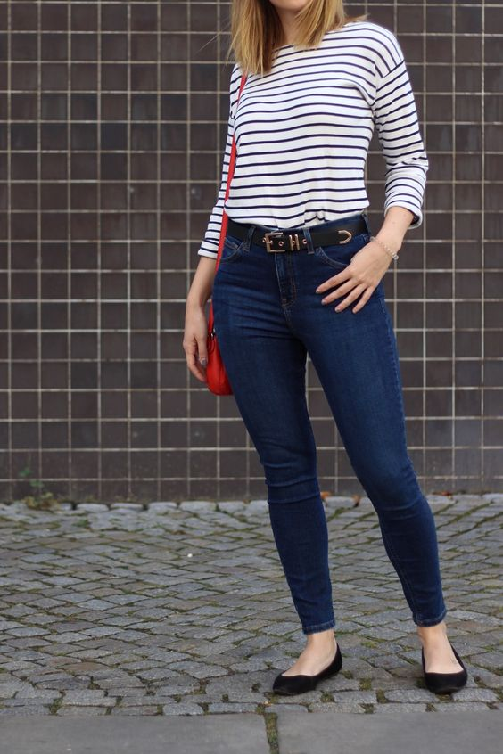 topshop-jamie-jeans-outfit-gestreiftes-shirt
