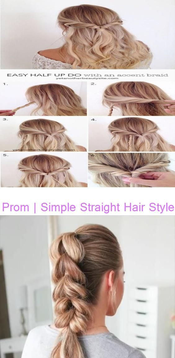 Prom Simple Straight Hair Styles 2015 Youtube Comment The Hair Style You Like The Most And I D Love It I In 2020 Straight Hairstyles 2015 Hairstyles Hair Styles