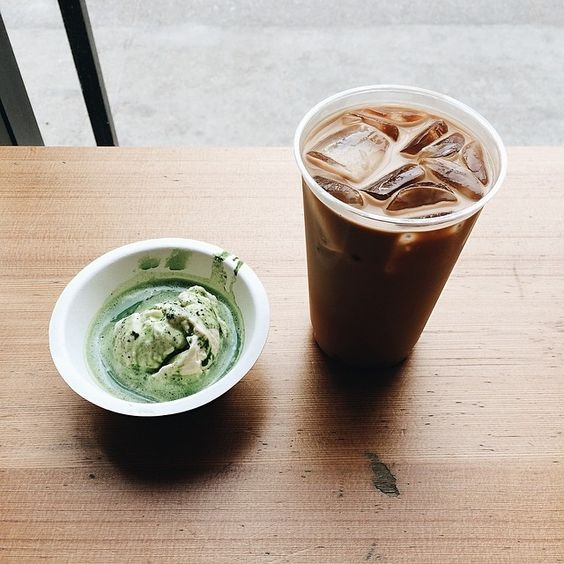 #matcha #affogatto #milktea #berkeley