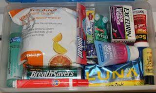Teacher Survival Kits in a pencil case