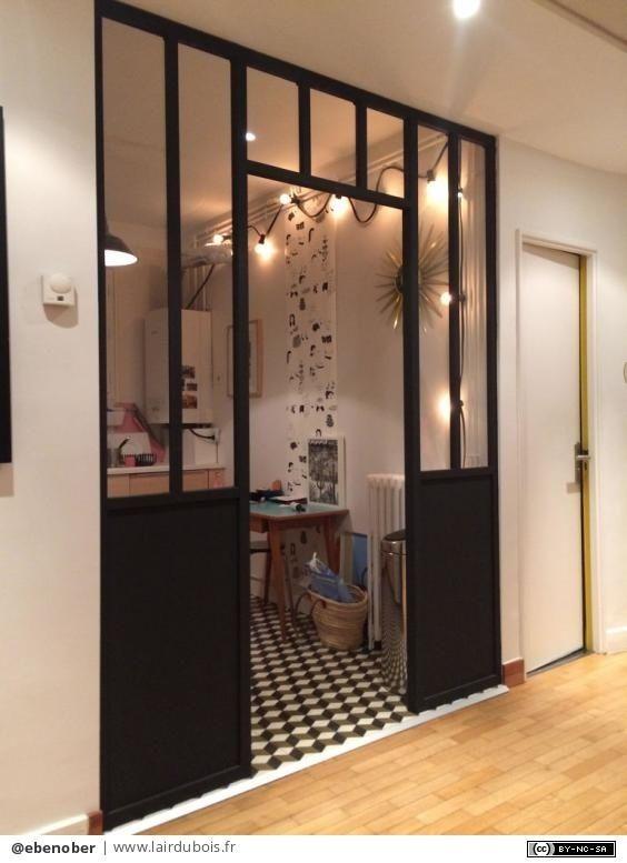 Verriere D Interieur Par Ebenober Verrieres Interieure Cloison Deco Appartement