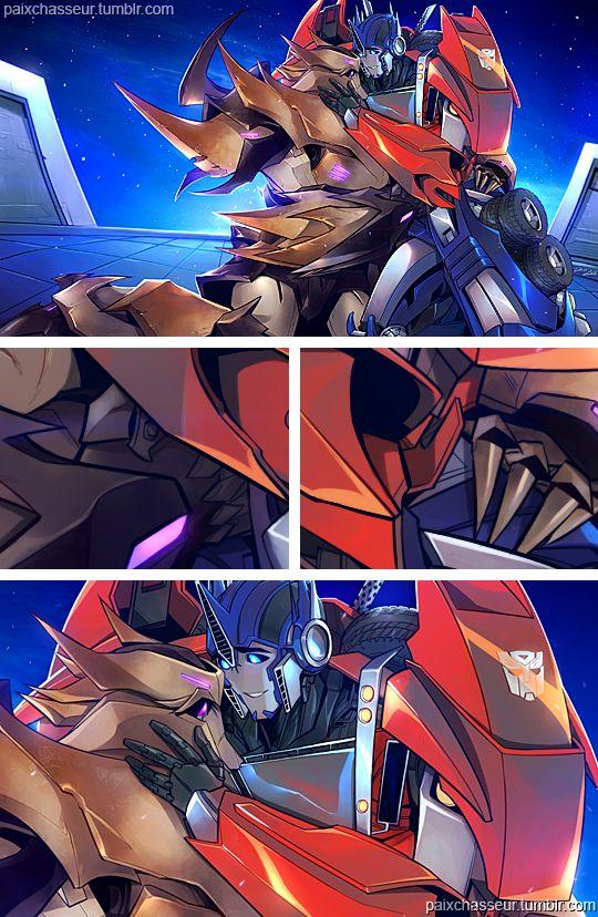 Art Of Darlsdraws Lina Rojas Transformers Megatron Transformers Optimus Transformers Funny