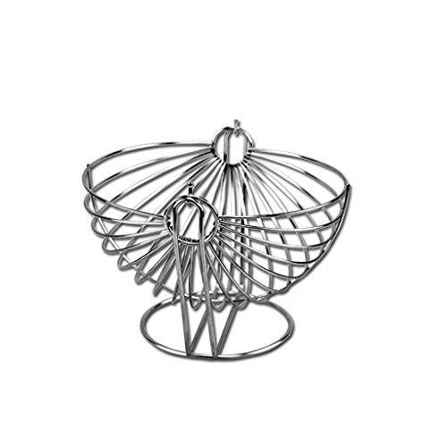 Xxhdee Stainless Steel Fruit Basket European Fruit Plate Creative