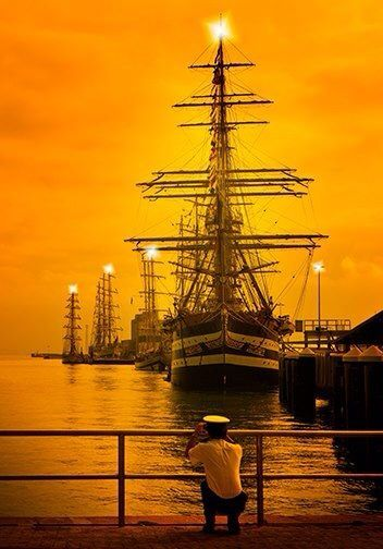 .Tall ships still evoke dreams of the past when the power of the wind and sailors bravery was the only requirements for traveling the world.