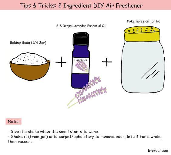 b for bel: Tips & Tricks: Super Easy 2 Ingredient DIY Air Freshener!