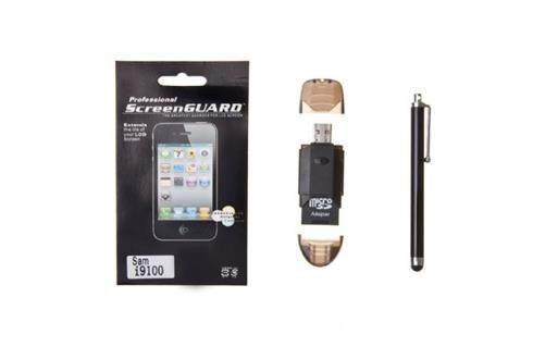 Todos los accesorios necesarios para tu SAMSUNG GALAXY SII - bateria adicional + pen + cargador de coche + cable usb + cargador doméstico + Cascasa + platico protector. - Descontos Lifecooler