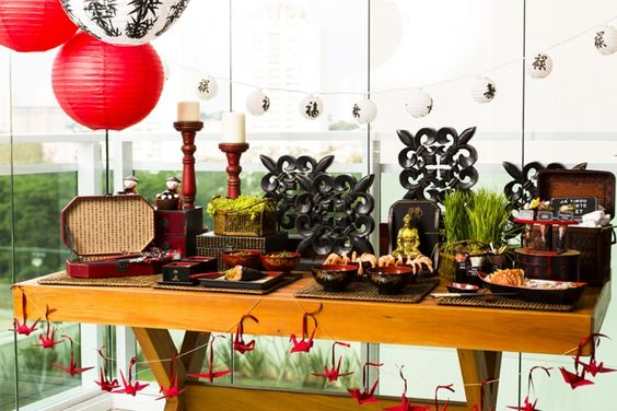 Mesa japonesa criativa mesas decora o e blog - Mesas japonesas ...