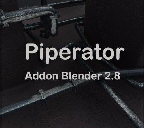 Piperator Addon Blender 2.82 | Blender, Blender addons