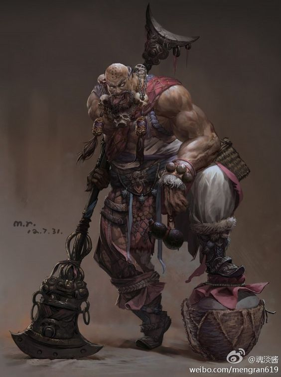 D&D 5E Homebrew: Monk Subclass: Way of Body • The Lifecast