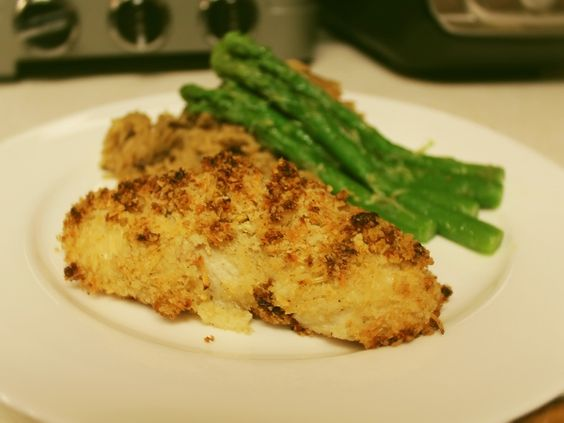 Parmesan Ranch Chicken for Two - quick and easy!