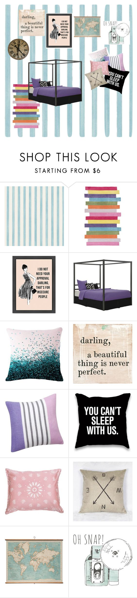 """Drafting"" by ashyrosepetal on Polyvore featuring interior, interiors, interior design, home, home decor, interior decorating, Christian Lacroix, nuLOOM, Dorel and Sugarboo Designs"