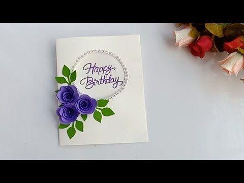 Mukta Art Craft Youtube Handmade Birthday Cards Birthday Cards Xmas Cards