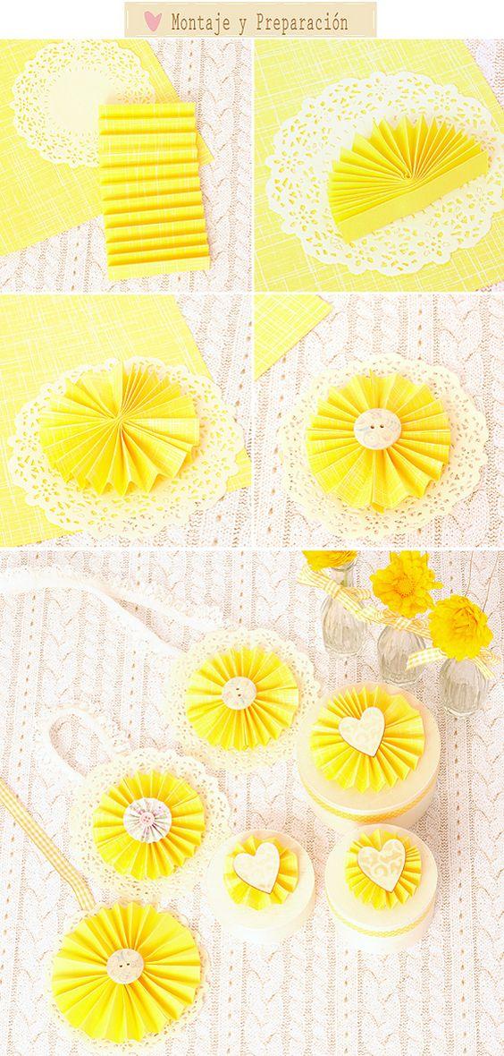 Abanicos de papel como realizar abanicos de papel para - Abanicos para decorar ...