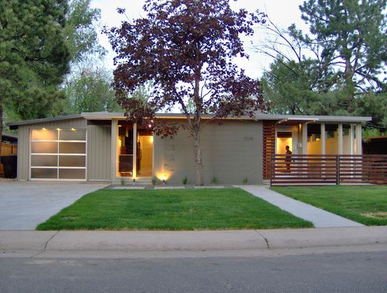 Someday I Want A Fifties Modern Ranch Style House Like