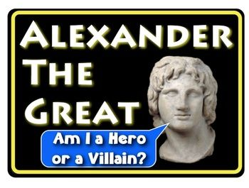 alexander the great a hero or a villain a common core ready investigation student the o. Black Bedroom Furniture Sets. Home Design Ideas