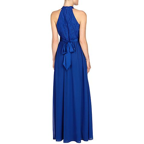 Buy Coast Elly Lace Maxi Dress, Cobalt Blue Online at johnlewis.com