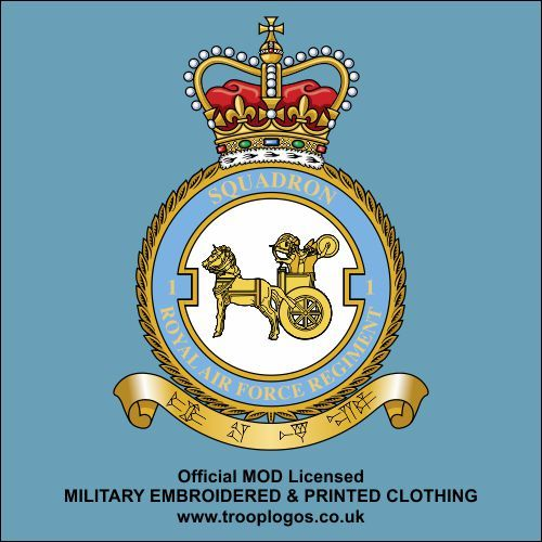 RAF CREST PRINTED ON A T SHIRT CHOICE OF COLOURS