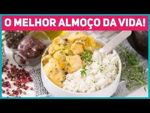 Almoco Completo Rapido E Facil Bobo De Frango Arroz De Coco