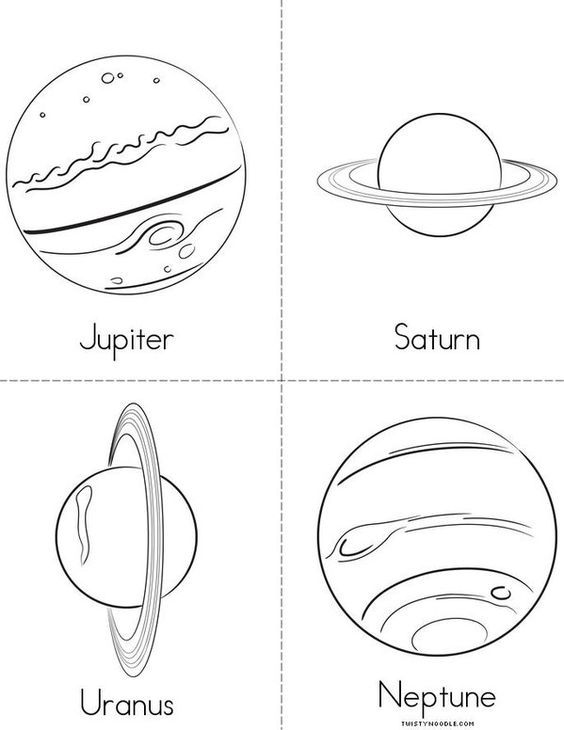 Solar System Mini Book Sheet 2 Solar System Crafts Solar System Projects Solar System