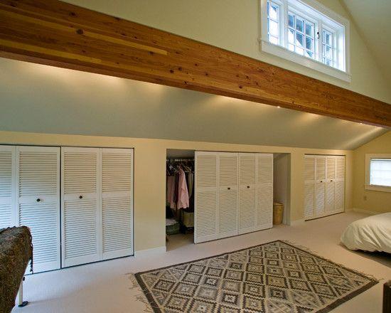 Knee Wall Ideas Storage Pinterest Sliding Doors
