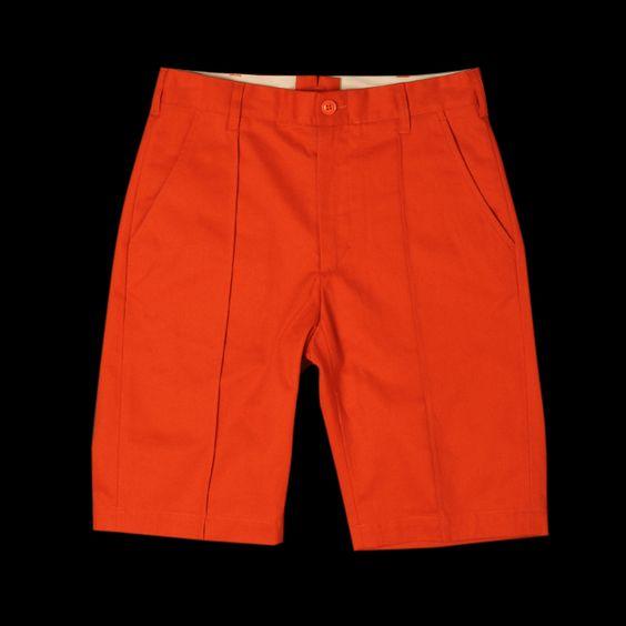Woolrich Woolen Mills Officer Short - Orange