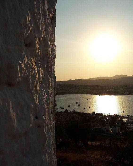 Point of #views #Bodrum #sunset #bodrumwindmills #bodrumpeninsula #Turkey #turkiye #igers #igersbodrum #bodrumtown #summer #summer2016 #holiday #vacation #places #türkiye #türkei
