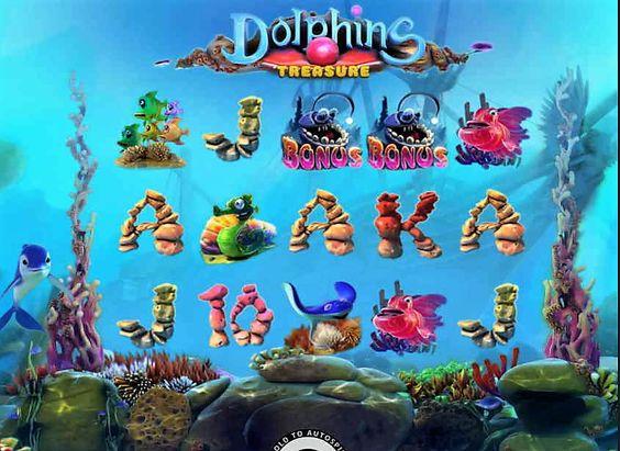 Dolphins treasure ігровий автомат