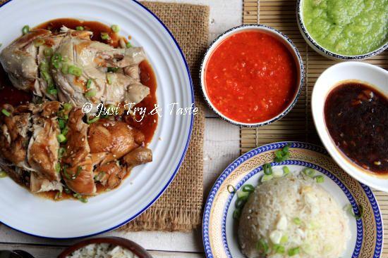 Resep Nasi Ayam Hainan Komplit Dengan 3 Macam Saus Resep Masakan Resep Makanan Memasak