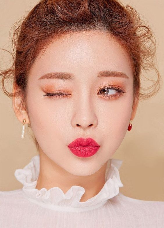 Korean makeup ideas, There are many blogs on the net that can provide beauty advice. #koreanmakeup #KoreanSkincareDiy