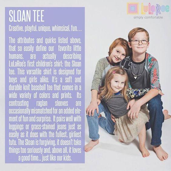 LuLaRoe Sloan Tee