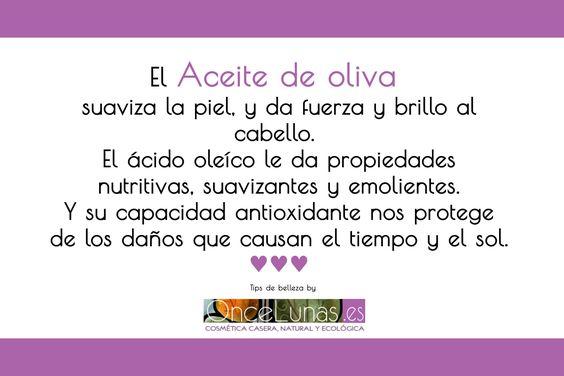 Aceite de Oliva como ingrediente de cosmética casera natural
