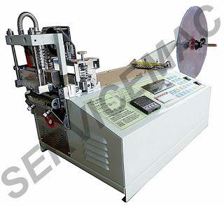 Servicemac equipamentos têxteis.: Maquina de corte quente automatica