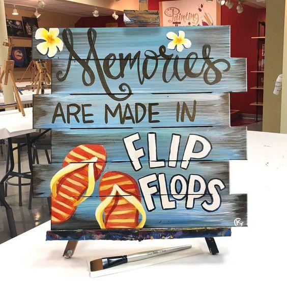 Memories are made in flip flops