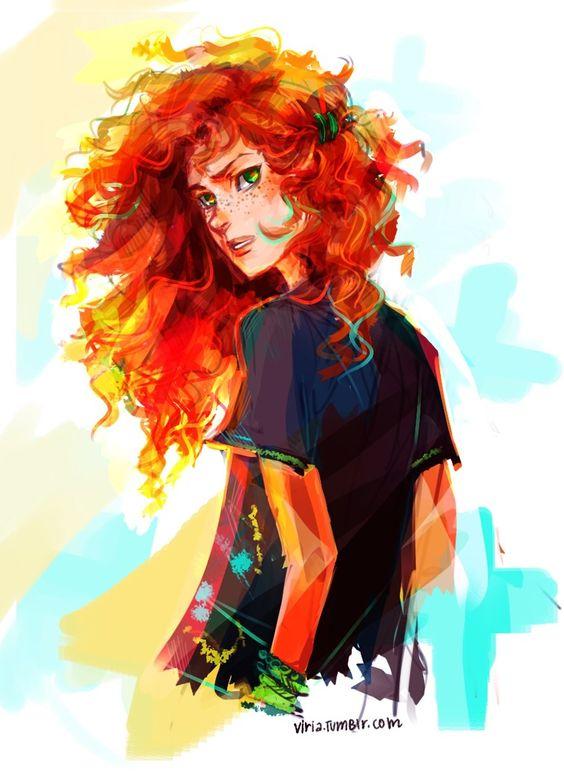 Rachel Elizabeth Dare (RED)... she is so pretty even Percy knows it :)