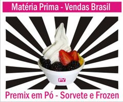 Sorvetes e Frozen Yogurt - Máquinas e Materia Prima - Vendas para todo o Brasil - www.grupoitalianinha.com.br
