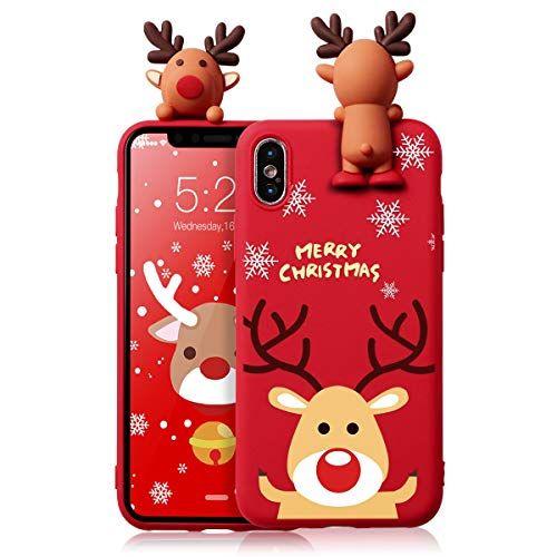 ZhuoFan Coque iPhone 11 Pro Max Etui en Liquide Rouge Silicone 3D ...
