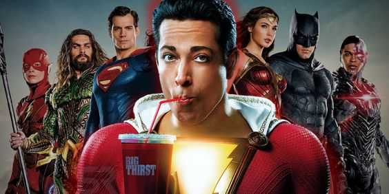 Shazam will release on April 5