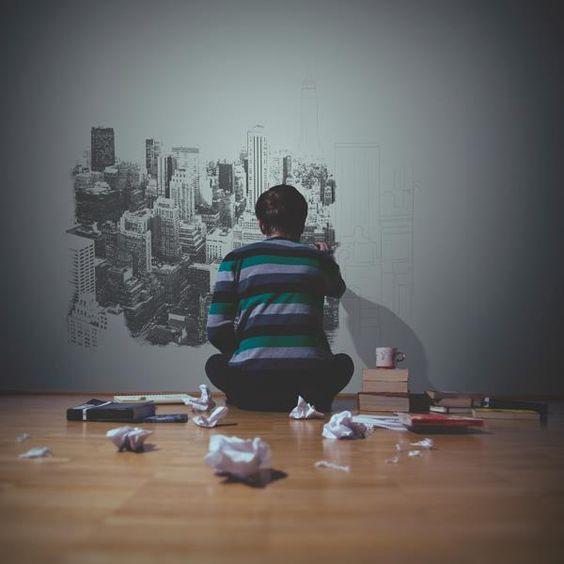 Fotografías conceptuales de Adrian Schiegl