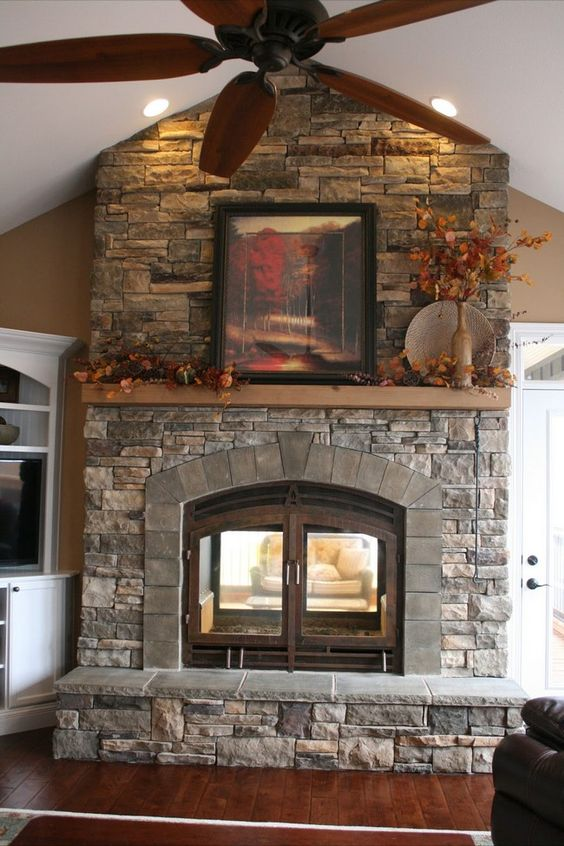 Transform Your Spacious Space With A Double Sided Fireplace The O 39 Jays For The And Fireplaces