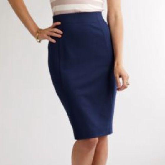 navy pencil skirt it my future closet
