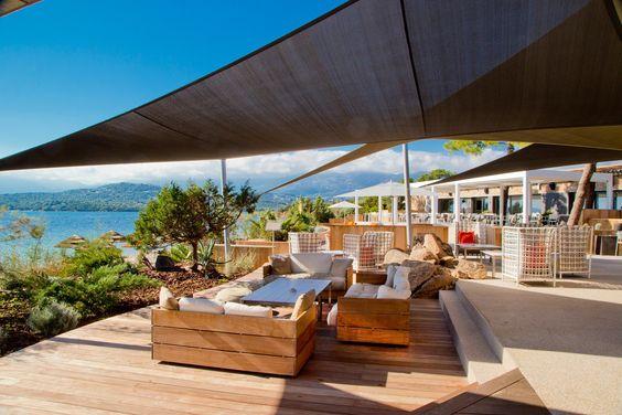 jean-françois bodin architecte / la plage casadelmar, porto vecchio l'île de corse