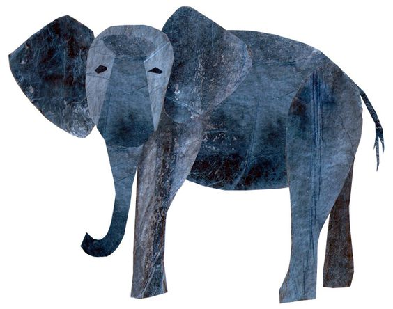 Eric carle elephants and google on pinterest for Eric carle mural