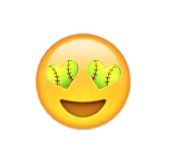Softball: Like If We Need A Volleyball Or SOFTBALL Emoji Repin If U